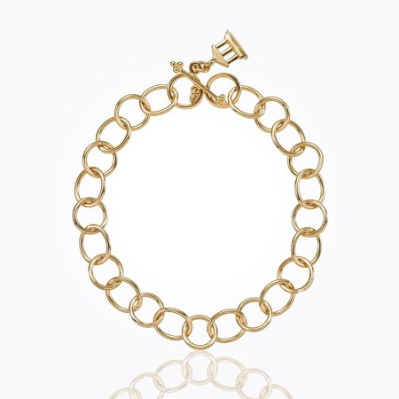 Temple St. Clair 18k Yellow Gold Arno Link Bracelet