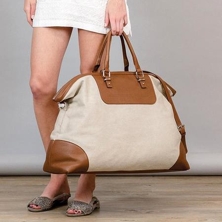 Eleventy Canvas Travel Bag