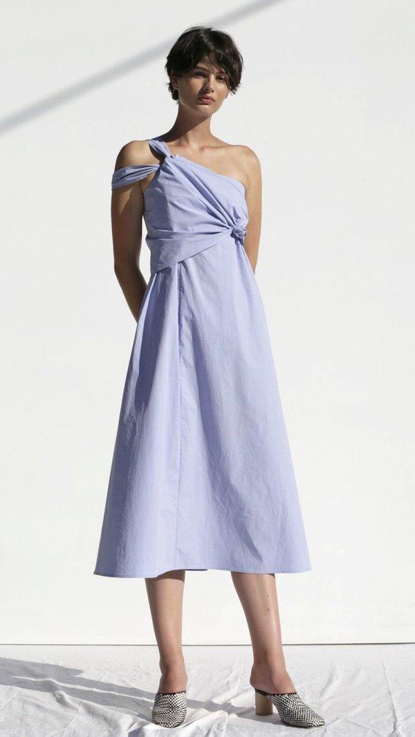 Shaina Mote Lark Dress Poplin - Ceylon