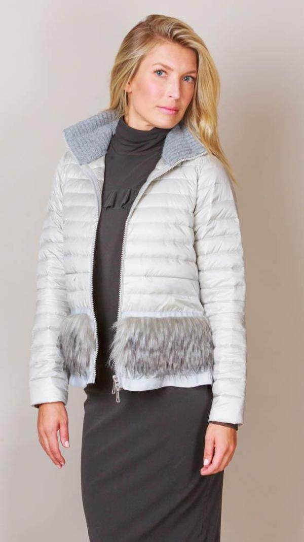 fe304ca98 SOSKEN Lightweight Puffer Jacket - Grey on Garmentory