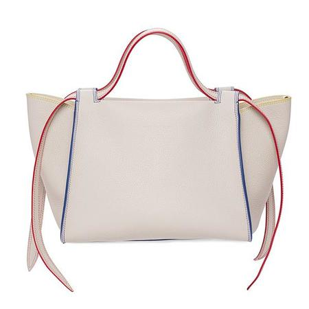 Elena Ghisellini Usonia M Leather Handbag