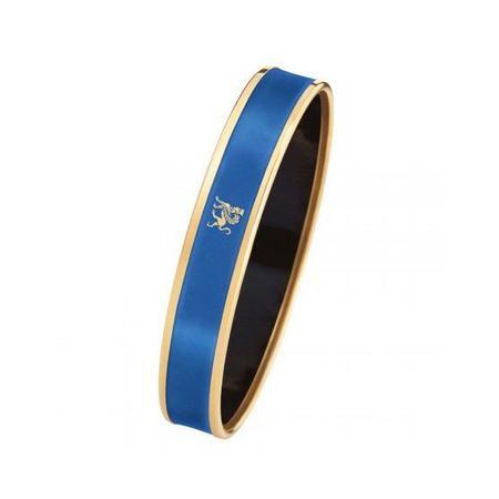 FreyWille Monochrome Bordered Bangle Mademoiselle - Lapis Blue
