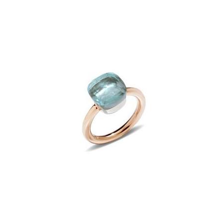 Pomellato Nudo Blue Topaz Ring