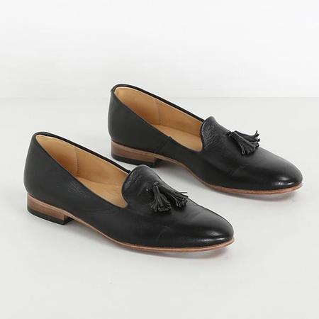 Dieppa Restrepo Restrepo Gaston Leather Loafers With Tassel - black