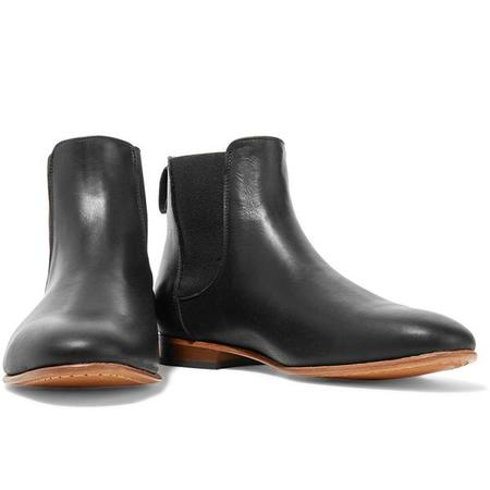 Dieppa Restrepo Troy Leather Ankle Boot - Black