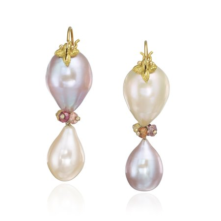 Diamond Dream Signature Collection Pearl Drop Earrings