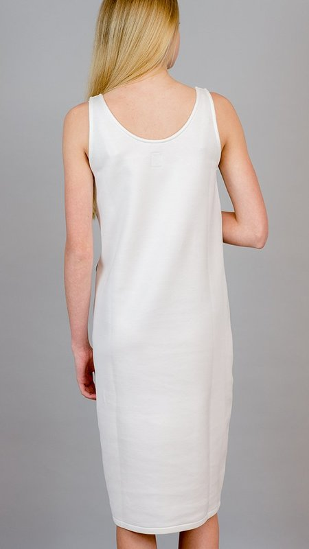 Eleventy Sleeveless Dress - White