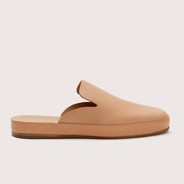 FEIT Leather Mule - Natural