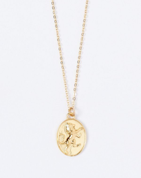Talon Leo Zodiac Necklace Garmentory