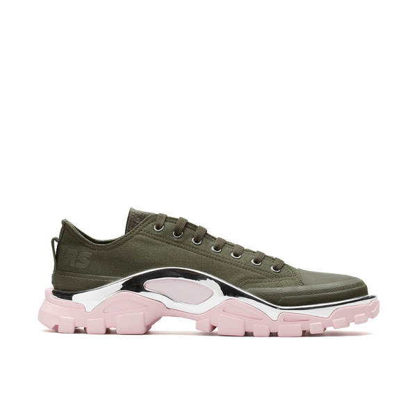 reputable site 79914 297c3 RAF SIMONS X ADIDAS Detroit Runner Sneakers - Green. 368.00110.00. RAF  SIMONS