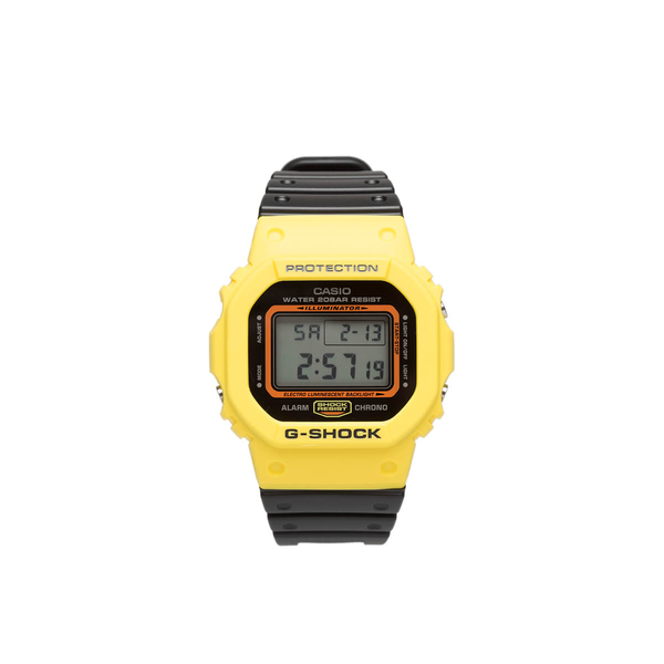 G Shock Digital Wrist Watch Yellow On Garmentory