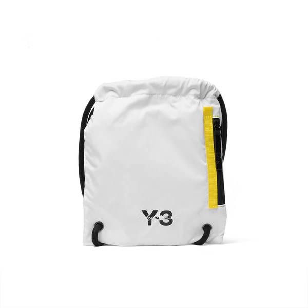 a197308b42c2 Y-3 Mini gym bag - White