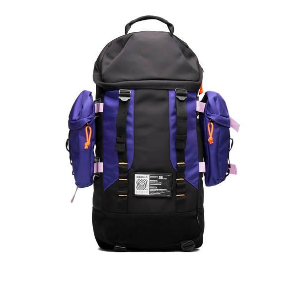 Adidas Originals Atric Backpack - Black Purple  caa5a91f42558
