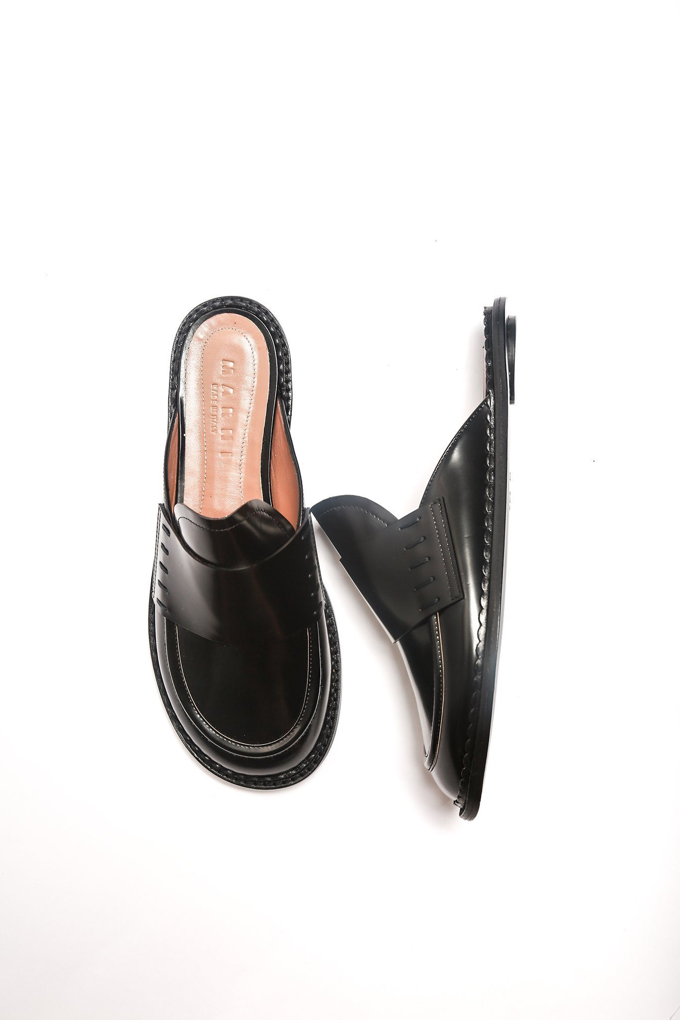 Marni Sabot Slip On - Black