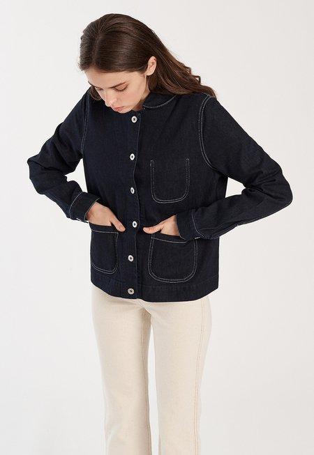 Kowtow Elda Denim Jacket - blue