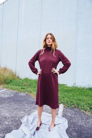 Loup Lea Dress - Wine