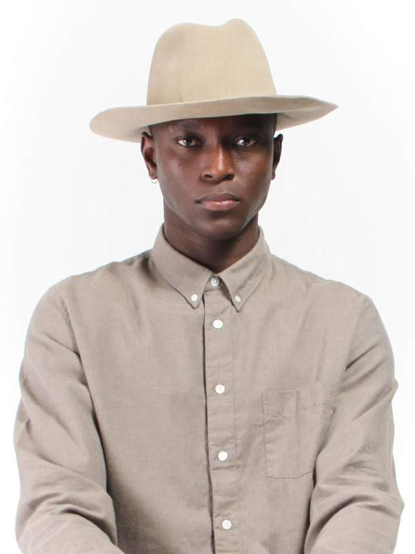 Unisex Reinhard Plank Uniform Hat - Light Beige  209d7e406d1a