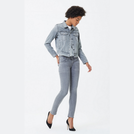 Citizens of Humanity Racer Low Rise Skinny Jeans - Statuette