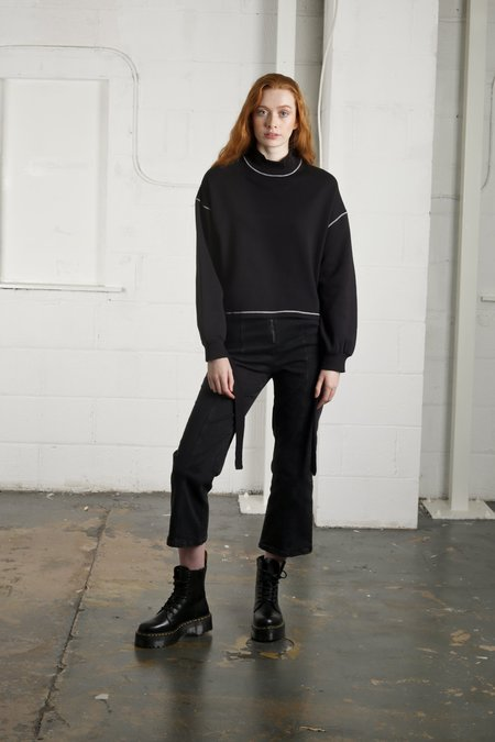 Native Youth ELECTRIC SWEAT - BLACK