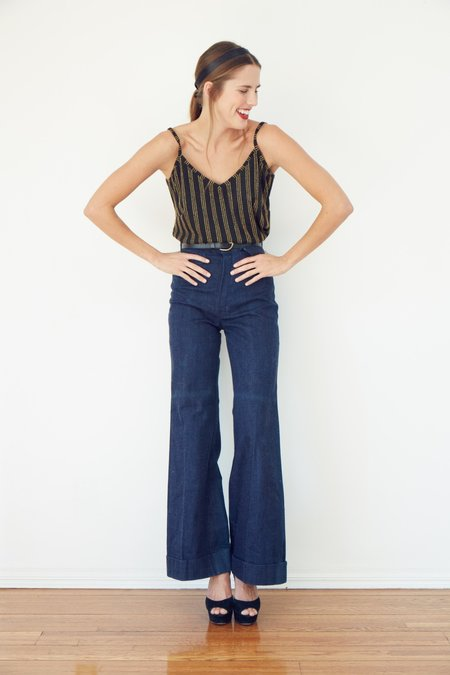 Between Ten Jean Cami - Black/Gold