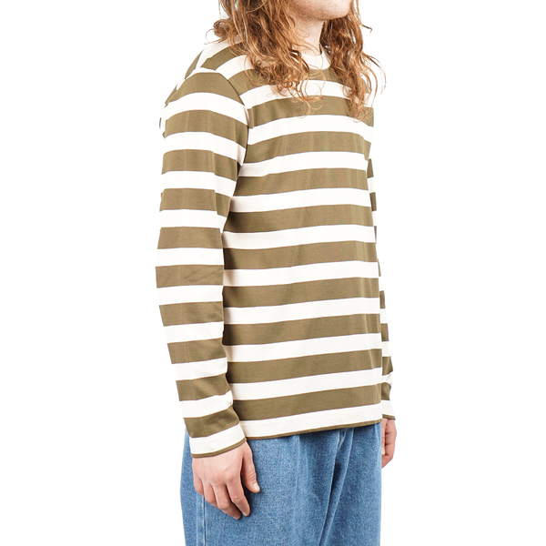 eb20264144 Norse Projects Johannes Rugby Stripe LS - Sitka Green. $118.00$59.00. Norse  Projects