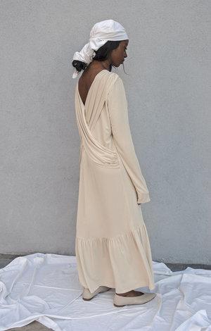 K M by L A N G E Shtora Dress - Ivory