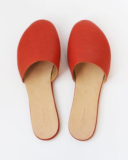 The Palatines Cognitio Slide Slipper - Saffron