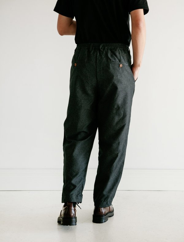 Marni Drawstring Trouser - Grey Check