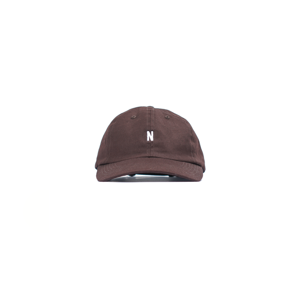 ea1210ab8b8 Norse Projects Twill Sports Cap - Eggplant Brown