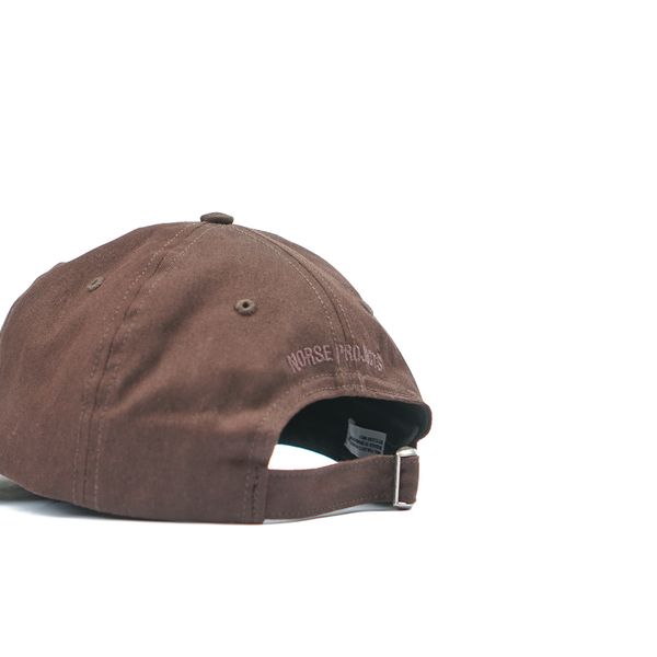 93fbcc15790 Norse Projects Twill Sports Cap - Eggplant Brown. sold out. Norse Projects
