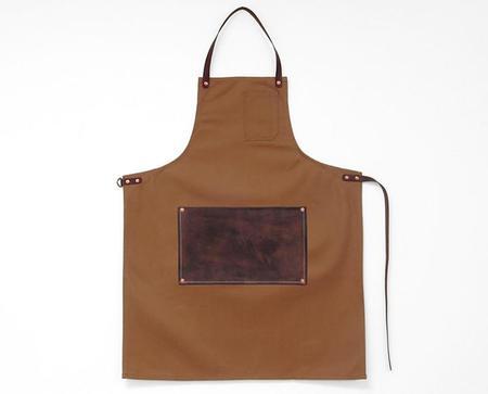 Apron & Bag Leather Lap Apron - Camel