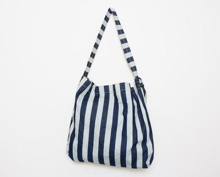 Apron & Bag Market Shoulder Bag - Wide Stripe