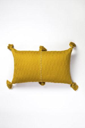 Archive New York Antigua Pillow - Ochre Solid
