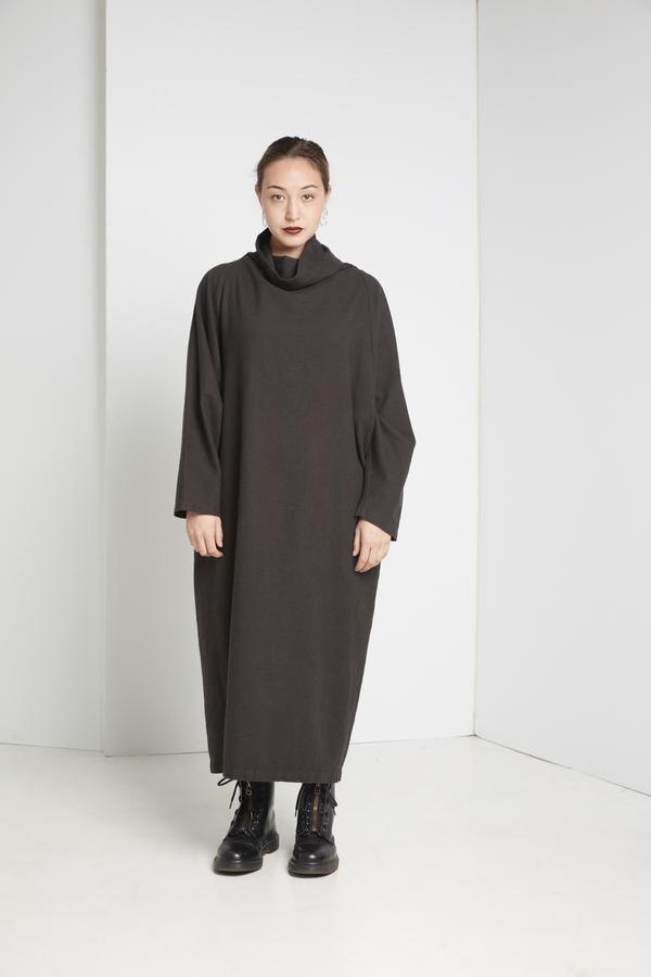 Black Crane Tube Dress