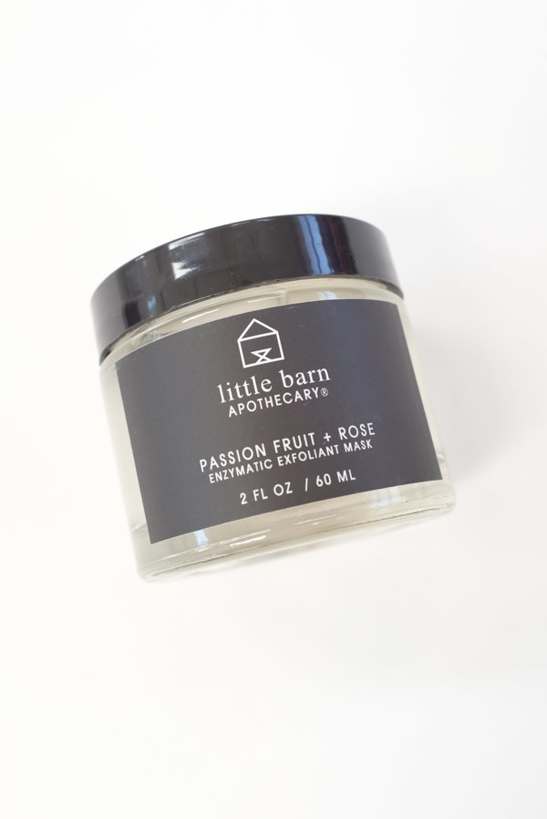 Little Barn Apothecary Passion Fruit And Rose Mask