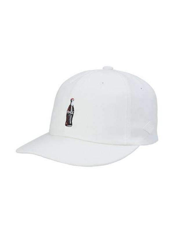Stereo Vinyls 60s Diner Cocacola 6P Ball Cap White  981063796f1