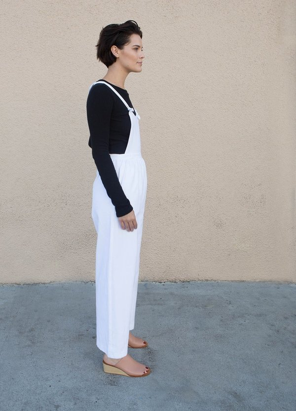 Loup Kate Overalls - WHITE