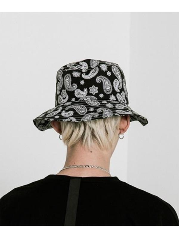 42619637f24 VLADVLADES  UNISEX  Paisley Bucket Hat 01 Black. sold out