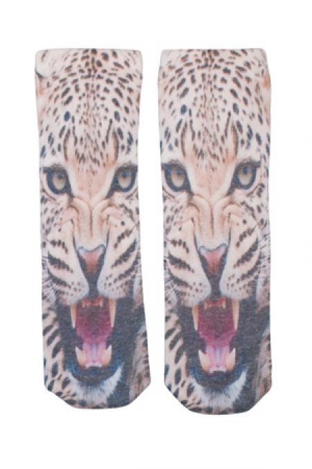 Kid's Popupshop Owl + Leopard Socks