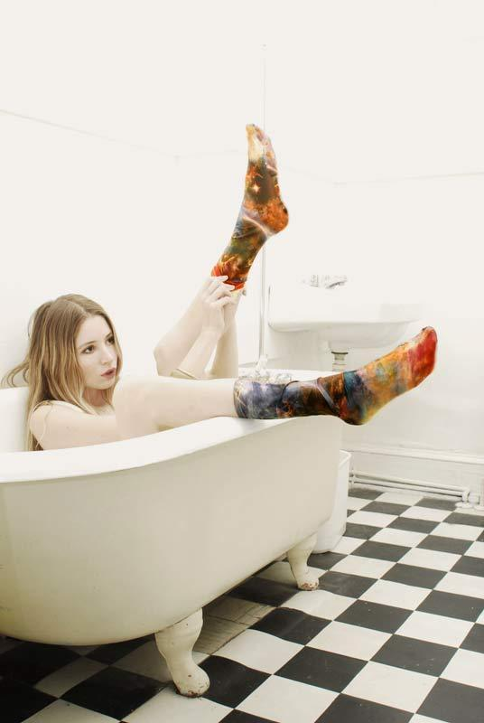 Strathcona Stockings Space Socks