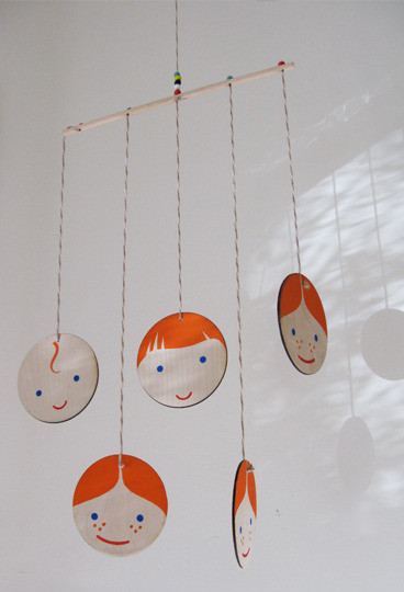 Becky Brisco Ginger Mobile