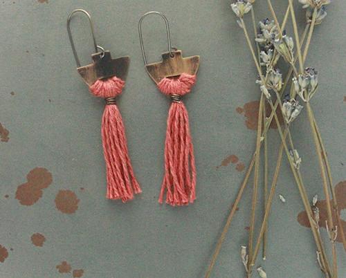 Twisted Whimsy Lenton earrings
