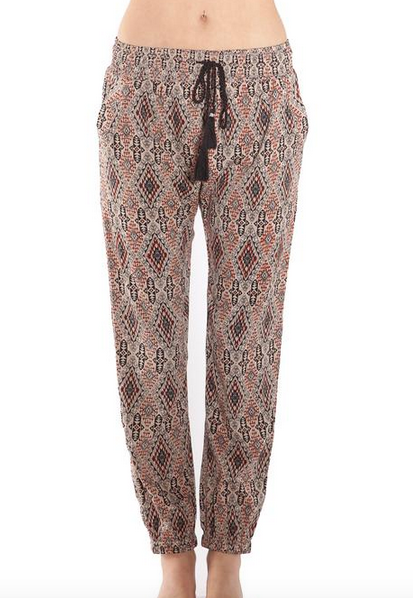 AMUSE SOCIETY Shine Pant | Natural Print
