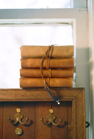 Becky Brisco Leather Moleskin Journal Cover