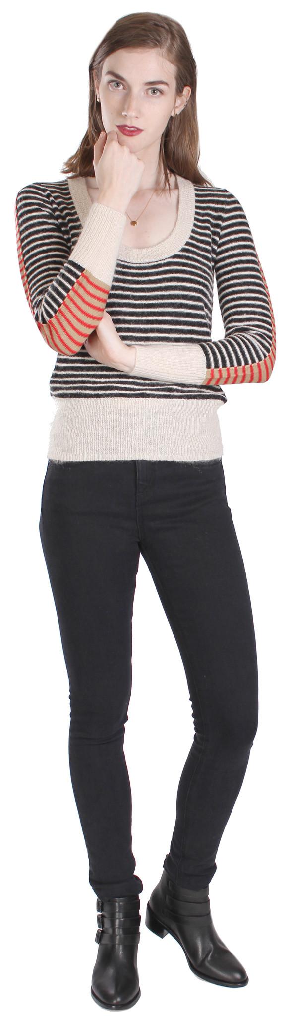 Sonia by Sonia Rykiel Mohair Stripe Sweater