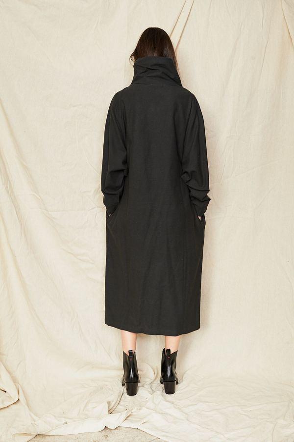 65c0503d704 Black Crane Tube Dress - Dark Grey. sold out. Black Crane