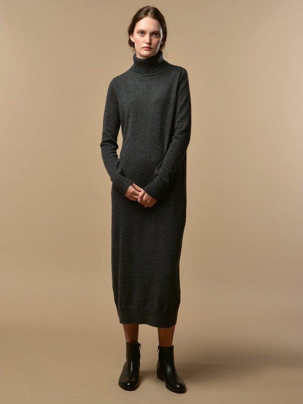 Turtleneck Maxi Dress