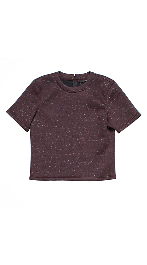 Obakki Boxy Crop Top T-Shirt