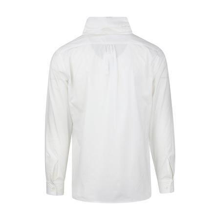Sasquatchfabrix. Big Scarf Box Shirt - White