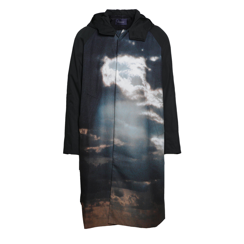 fd510807fe JohnUNDERCOVER Cloud Printed Parka - BLACK